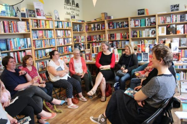 An evening with Claire Fuller at Mostly Books
