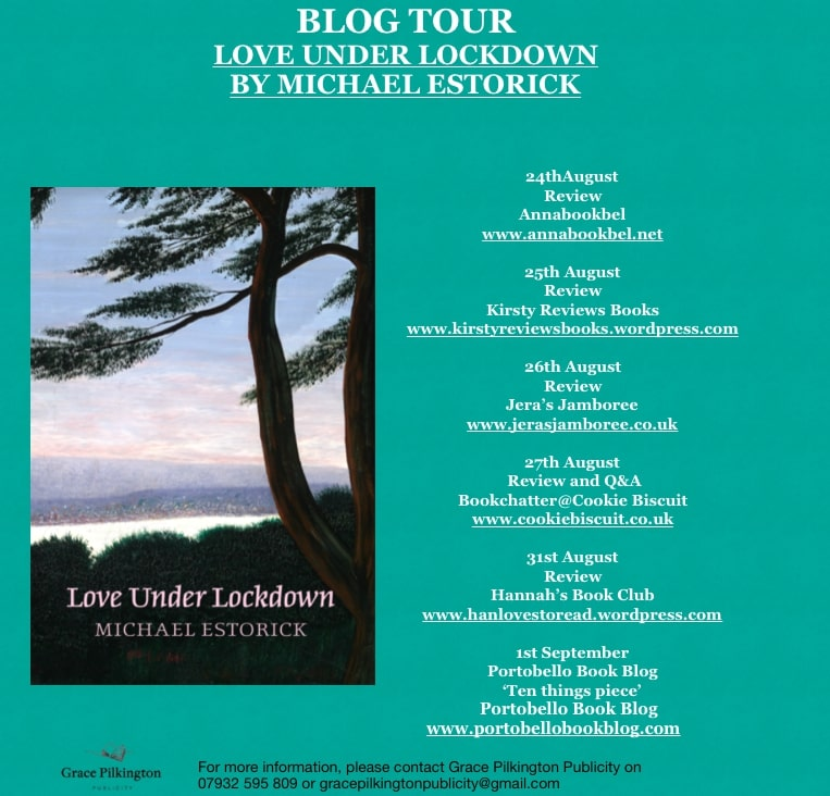 Love Under Lockdown by Michael Estorick - Blog Tour