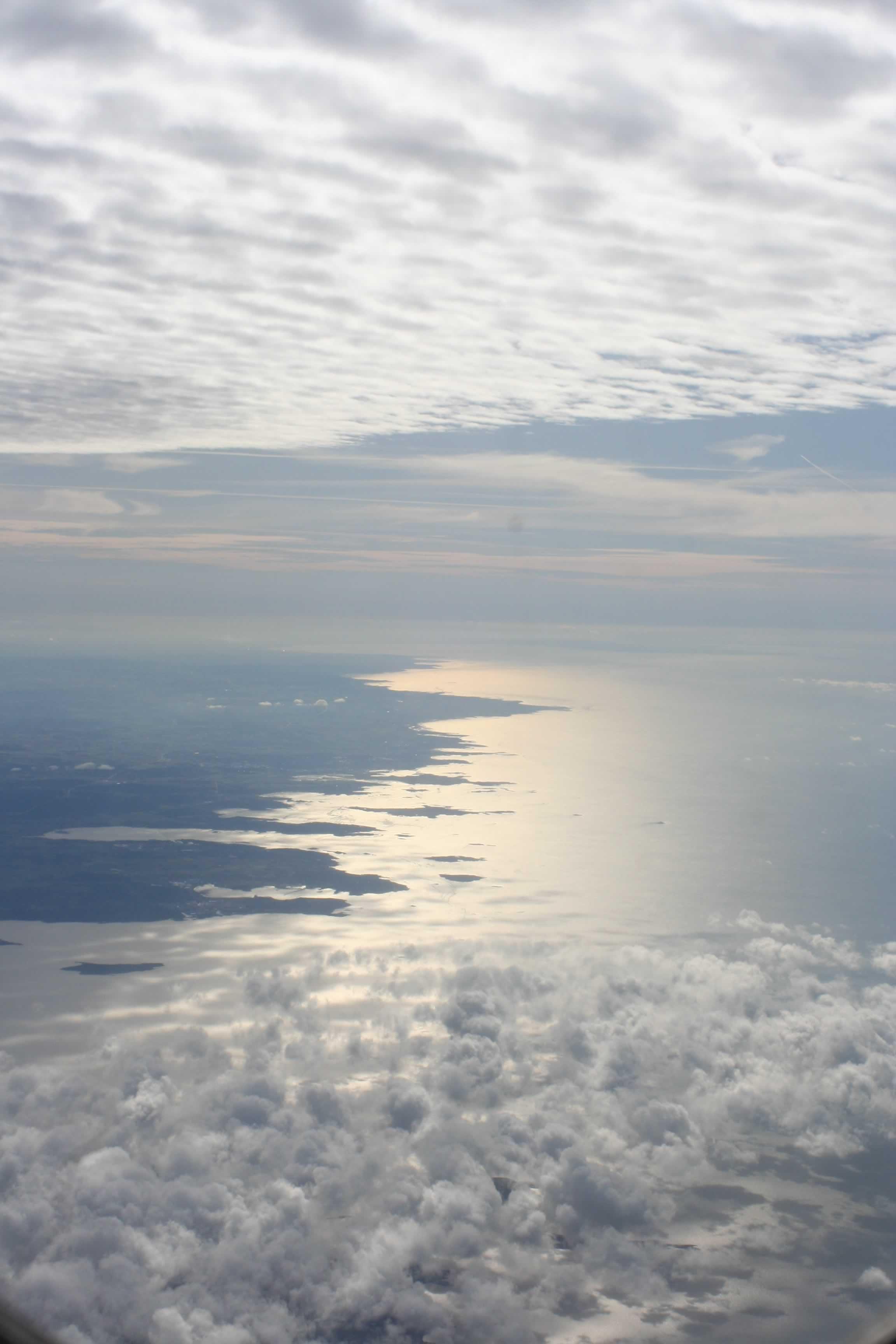 Denmark from above