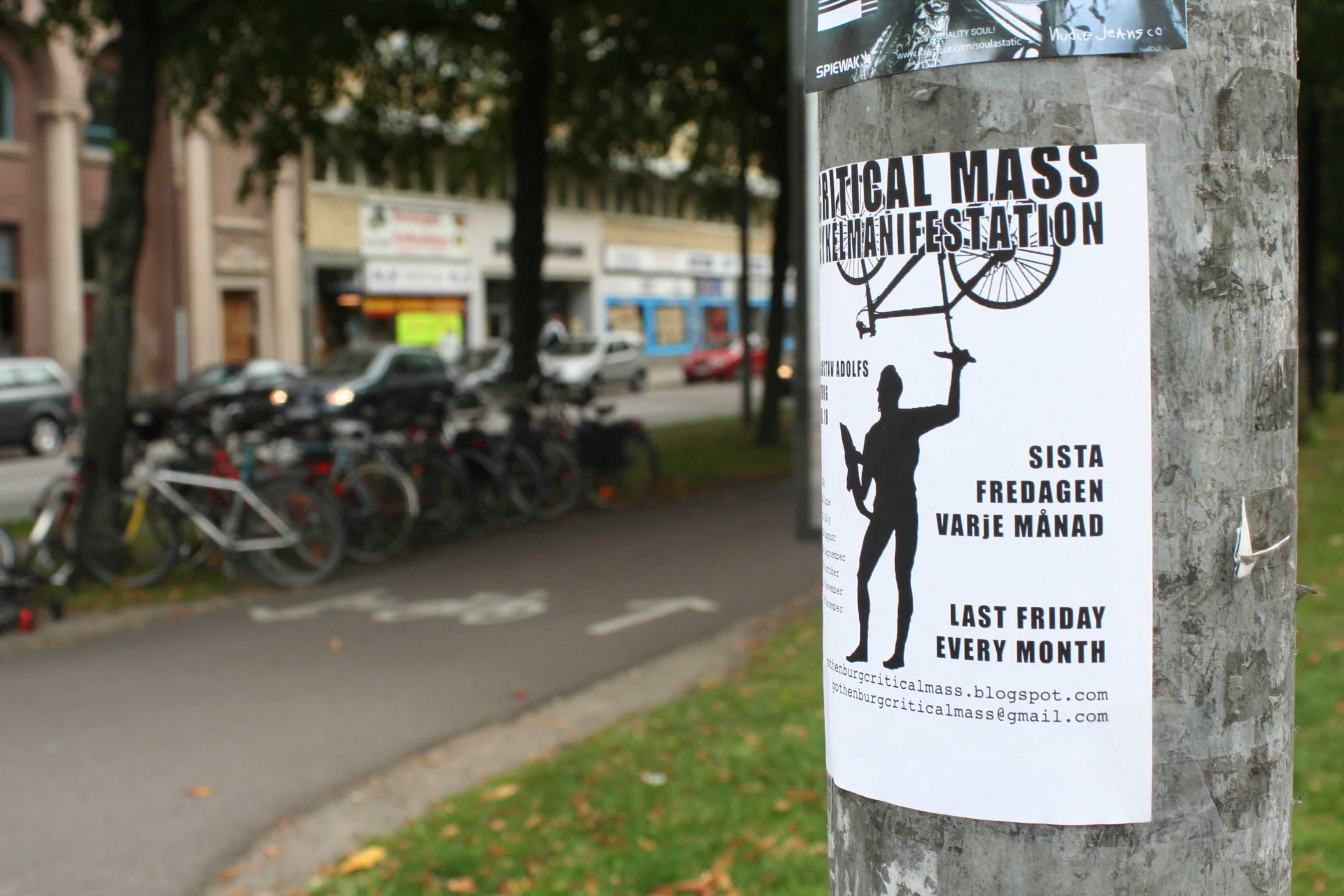 Gothenburg does Critical Mass