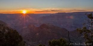Sunset from Desert View
