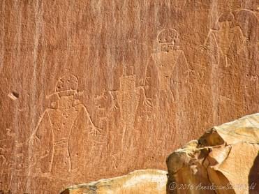 Petroglyphs @Capitol Reef National Park