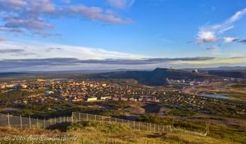 Kiruna - view from the skiing slopes