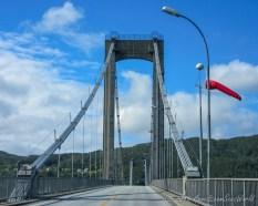Across bridges