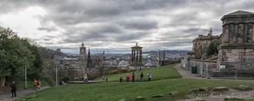 Calton Hill view towards the center