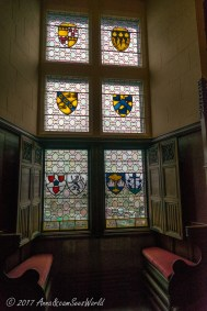 Glass paintings in the Great Hall