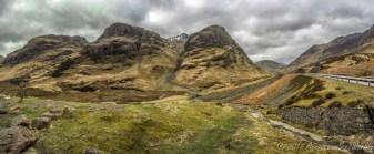 Glencoe - not just scenery known for James Bond Skyfall and Harry Potter Prisoner of Azkaban but also scene for terrible 1692 massacre in the earie valley
