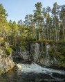 Pattack Falls in Cairngorms National Park