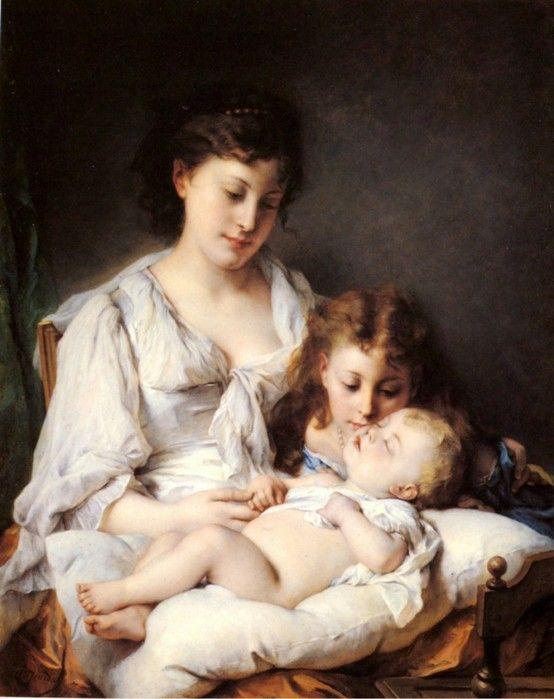 Pierre Oliver Joseph Coomans (1816 - 1889 ) art
