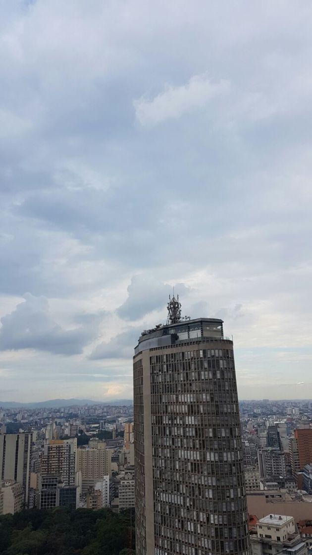 Edifício Itália visto do Edifício Copna