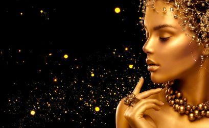 Make up Oro e Nero
