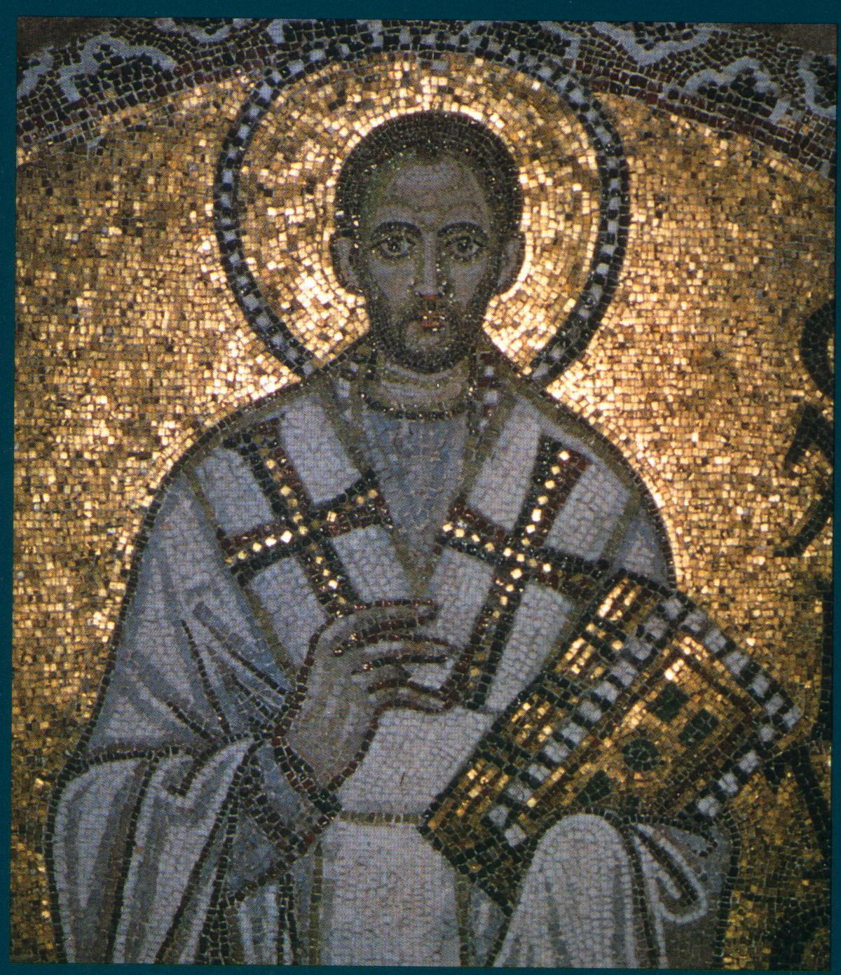 Mosaic, John Chrysostom
