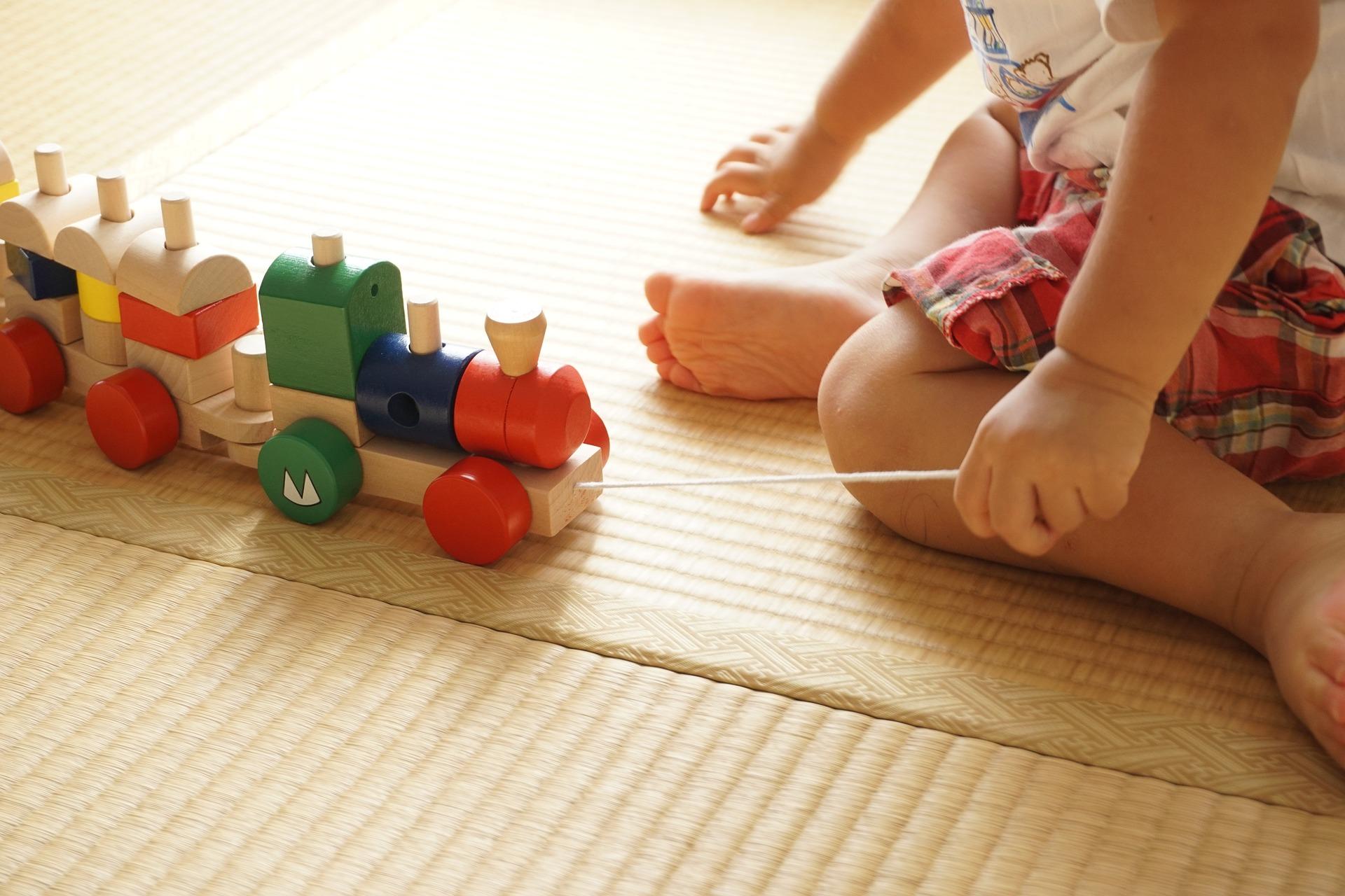 Tips para escoger los juguetes más apropiados: 0-12 meses