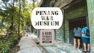 Penang War Museum header Image