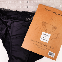 Crash test de la culotte menstruelle Sisters Republic