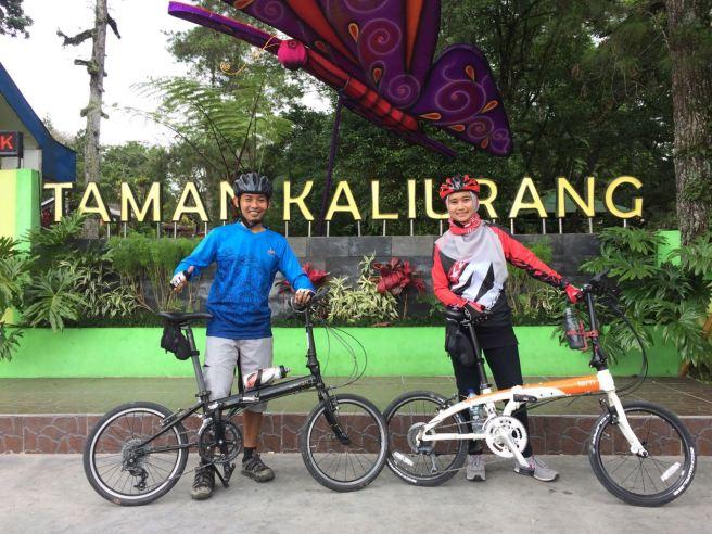Sabtu, 31 Desember 2016. Gowes penutup akhir tahun, seputar Kalirang (Jembatan Boyong, Museum Ullen Sentalu, Gradu Pandang dan Taman Kaliurang).