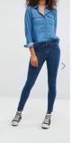 chemine en jean