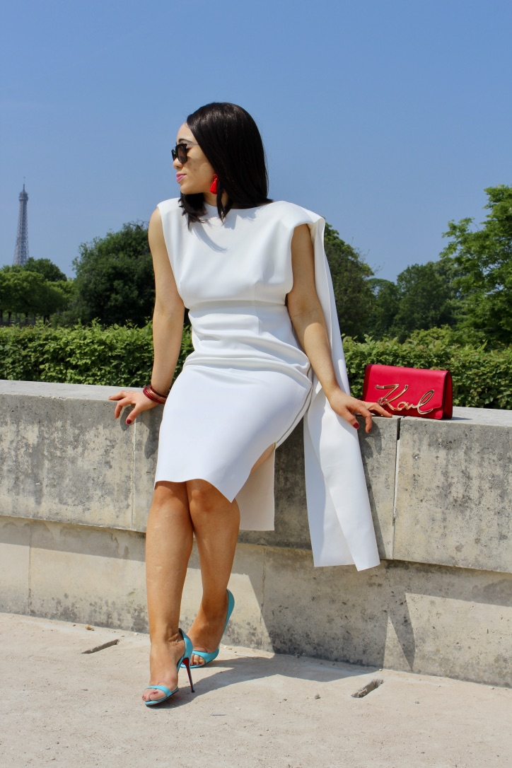 robe blanche collection asos