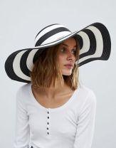 Chapeau de paille à larges bords vero moda