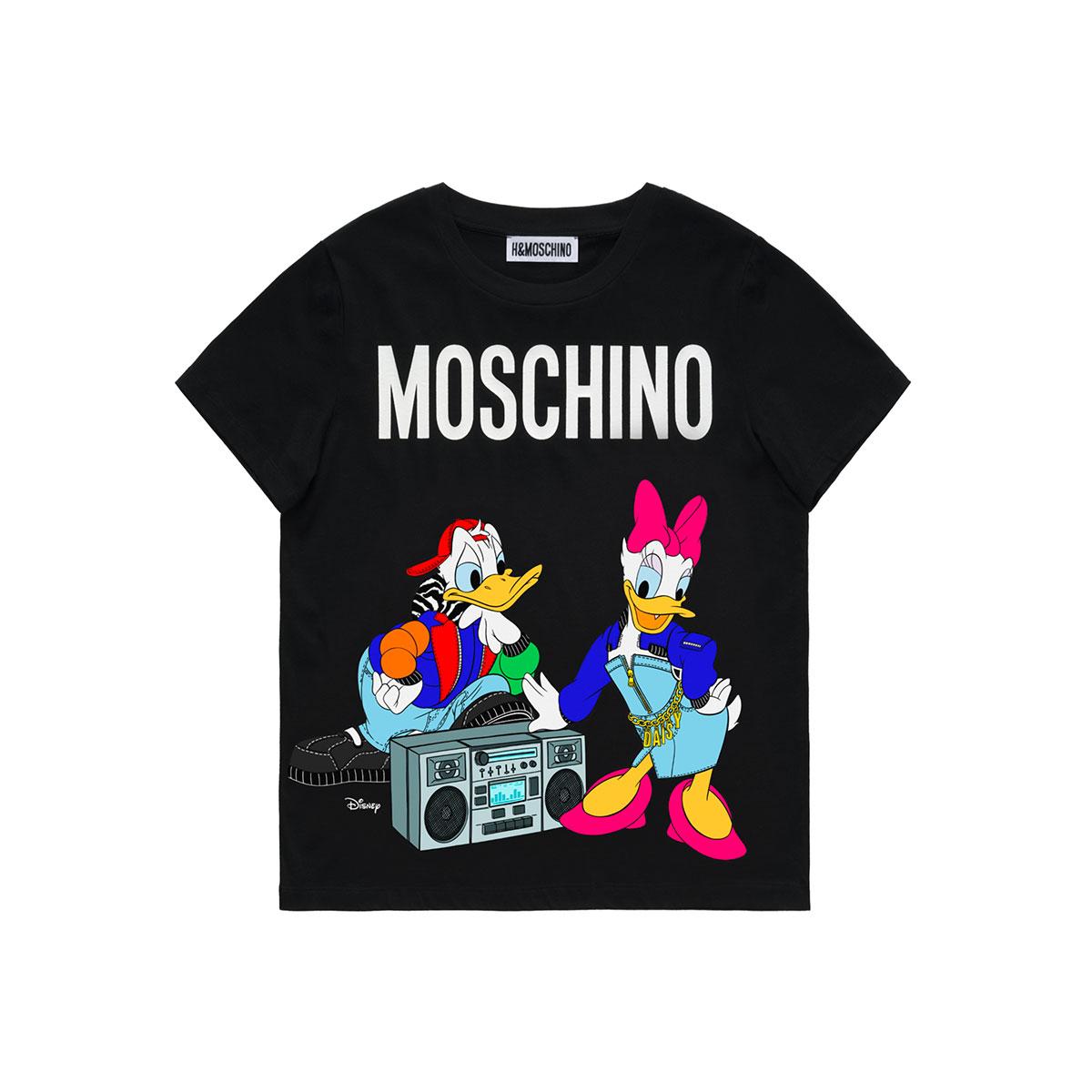 t-shirt MOSCHINO x H&M