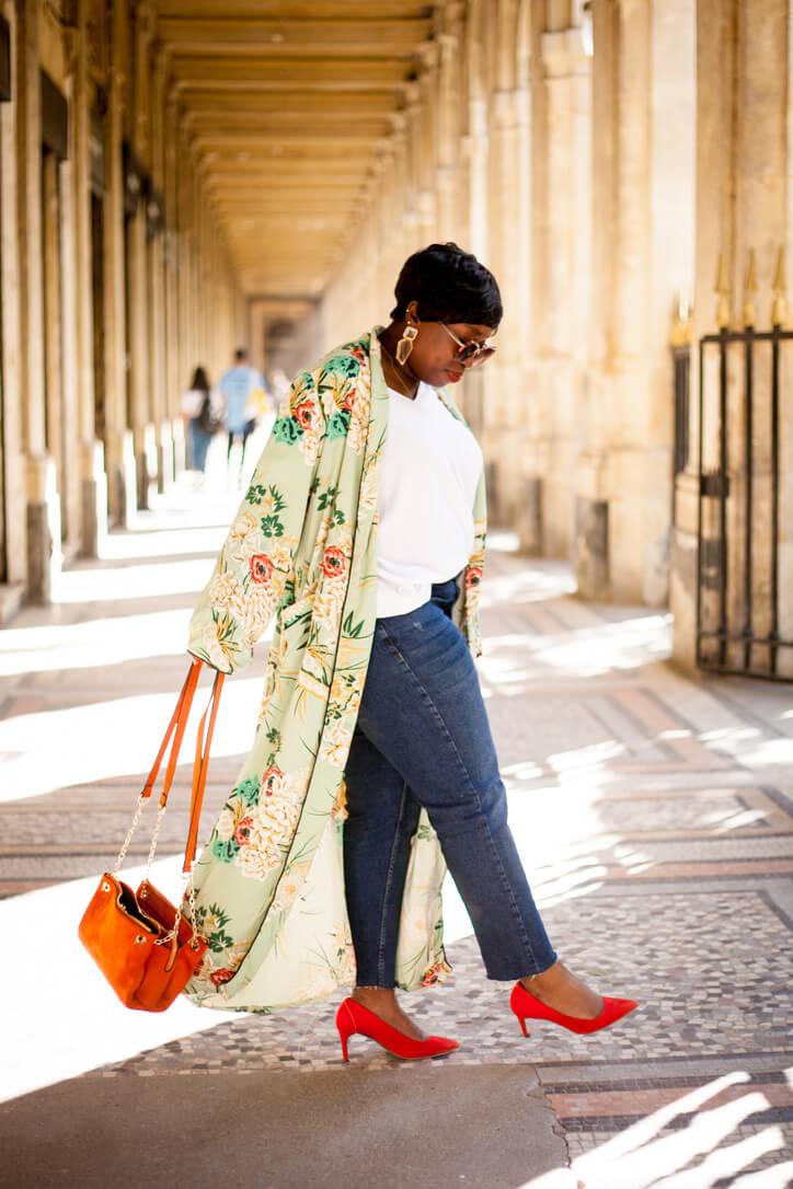 look mode kimono