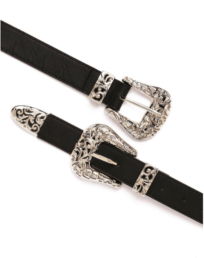 ceinture double boucle nasty gal