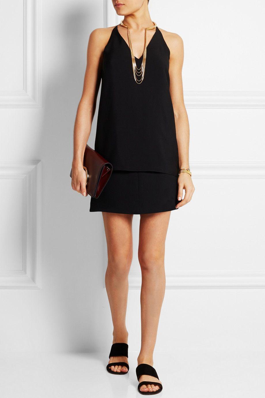 look de fêtes petite robe noire