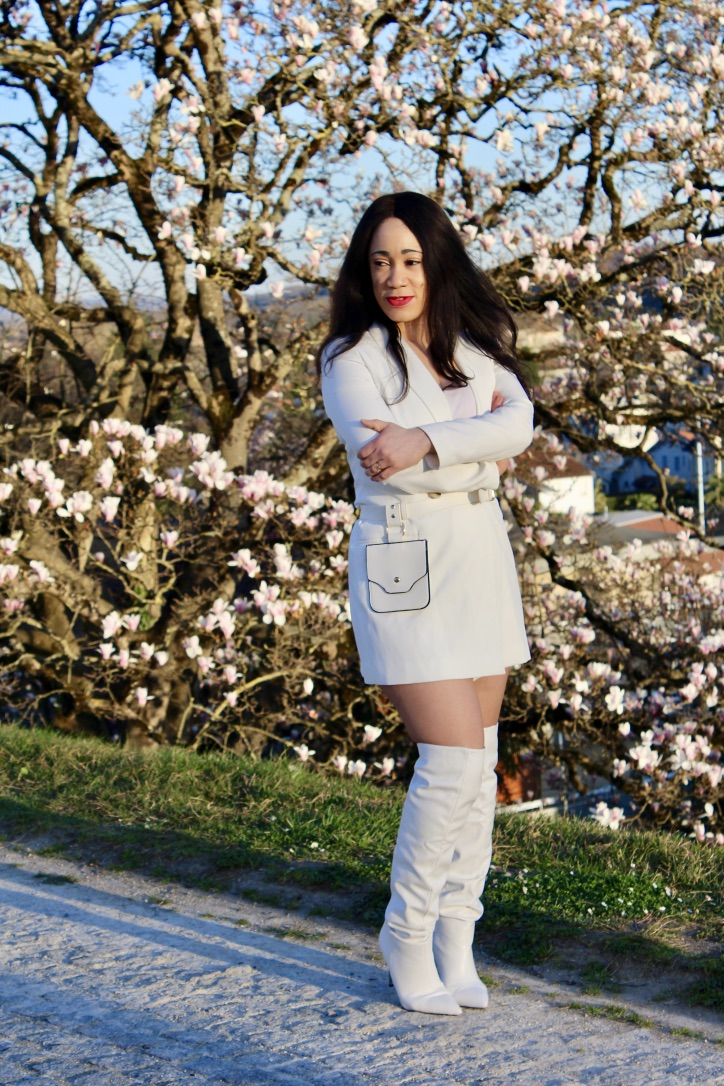 look printemps all white