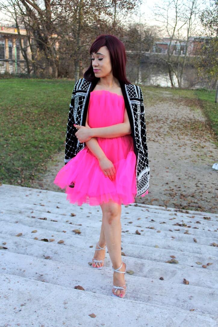inspiration look de fêtes robe en tulle
