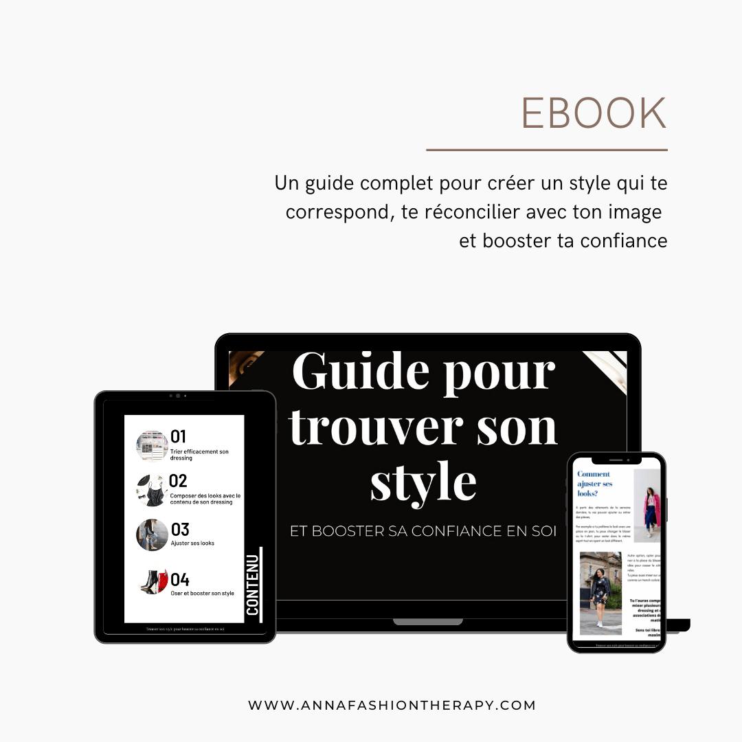 ebook pour trouver son style et booster la confiance en soi