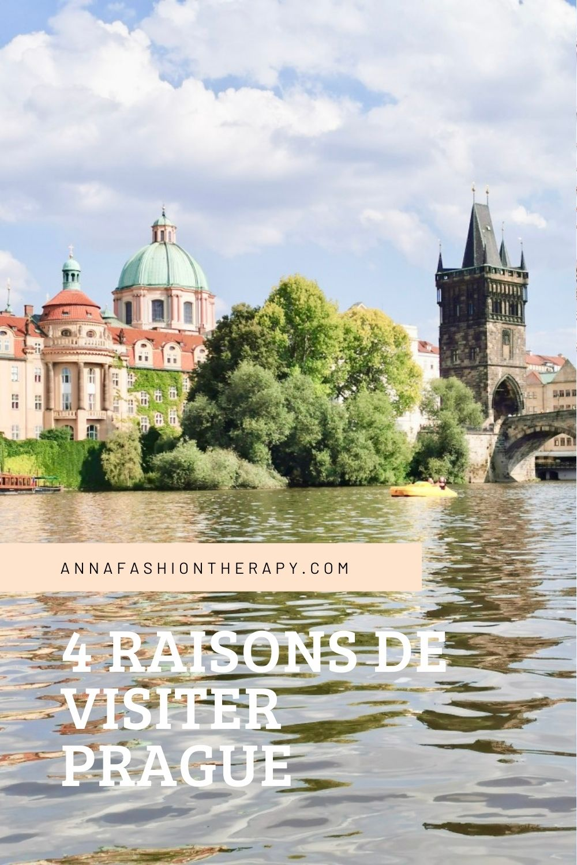 quatre raisons de visiter Prague