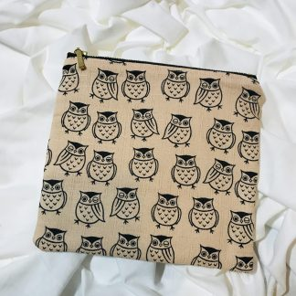 Owls Zip Bag