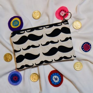 Moustache Coin Purse