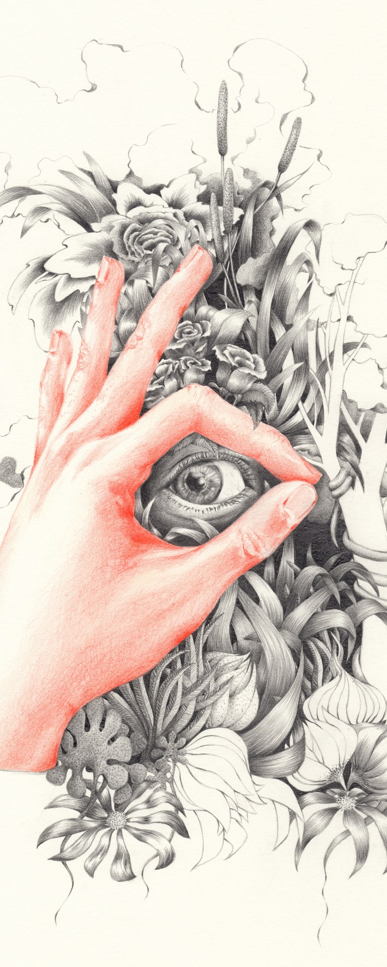 TAKE A LOOK OUTSIDE | pencil on paper