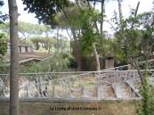Roma, villa confiscata - scale ingresso via Algeria