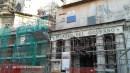 L'Aquila, post terremoto - Cantieri e impalcature