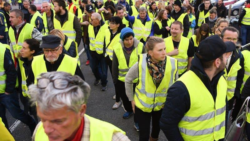 Paris – Bercy – Manifestation gilets jaunes