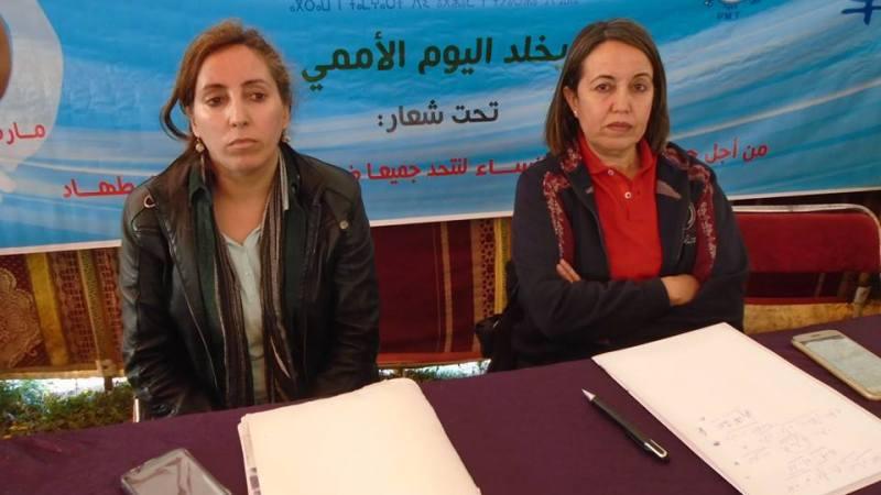 تنظيم المرأة في القطاع الفلاحي والغابوي للجامعة الوطنية للقطاع لفلاحي في لقاء تواصلي مع فلاحات وعاملات زراعيات