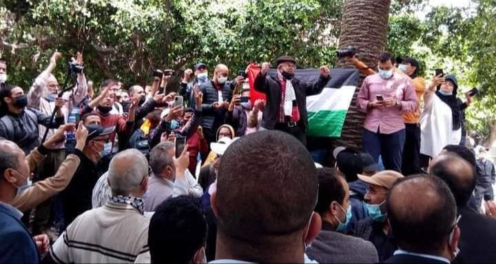 النهج الديمقراطي يتوجه بالتهنئة للشعب الفلسطيني ويدعو للمشاركة في تظاهرات الجبهة