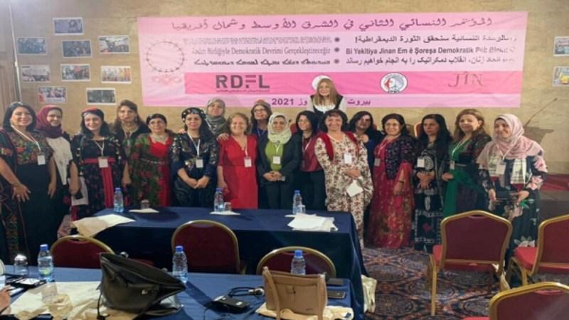 بيان المؤتمر النسائي الثاني في الشرق الأوسط وشمال أفريقيا