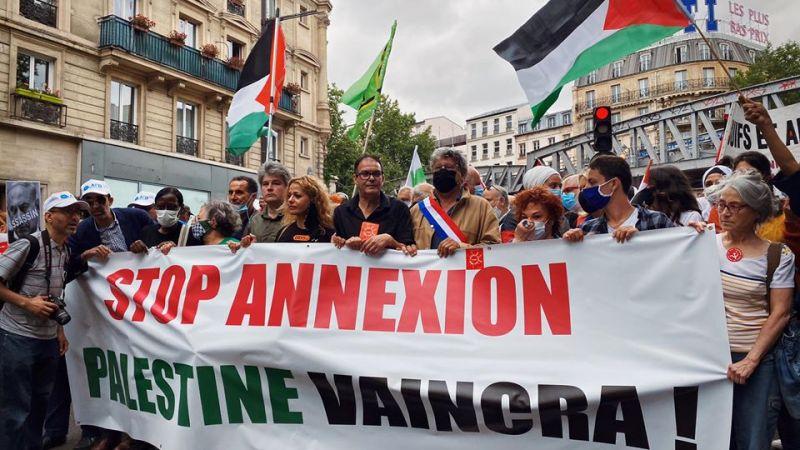 إدانة للسياسة التوسعية الاستعمارية للكيان الصهيوني من المجتمع المغربي