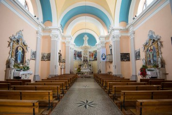 Inside the Church of St. Martin in Šmartno