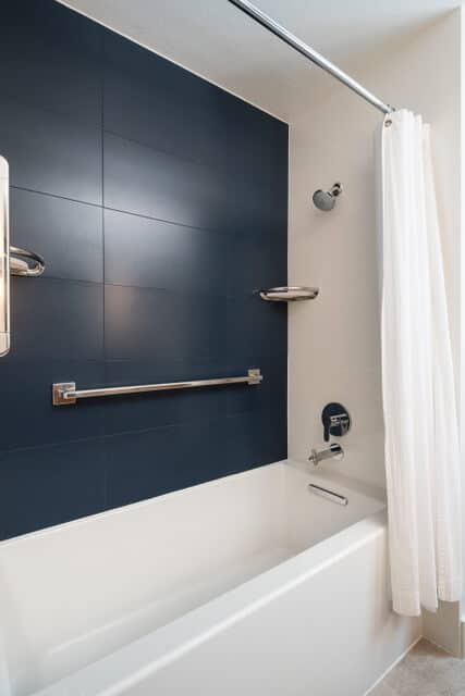 stylish yet easy to maintain showers