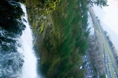 View from the top of Multnomah