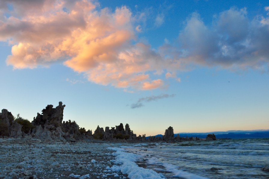 Sunset from South tufa