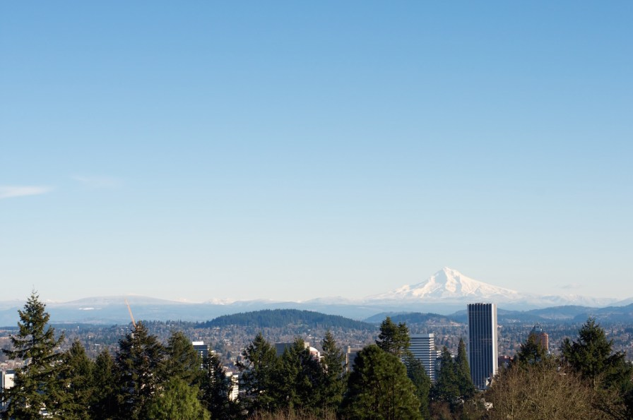 Mt.Hood from Washington park
