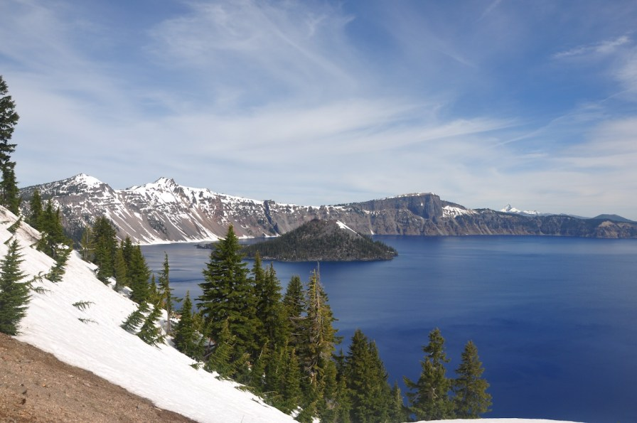 The lake from Crater lake lodges