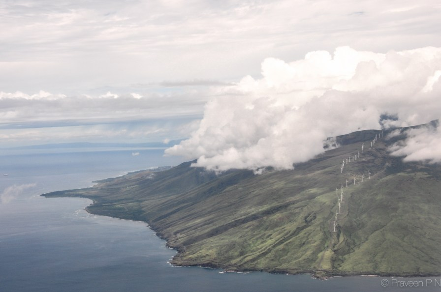 Landing in Kahului, Maui. Hawaii