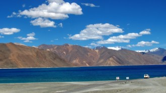 And we reach Pangong