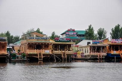Houseboats of Dal lake